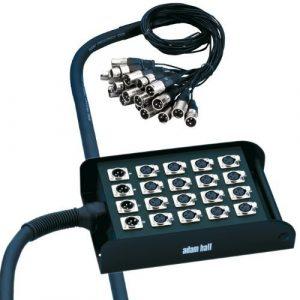 Adam Hall Cables K20C30 Câble multipaire avec boîtier de scène 16/4 30 m