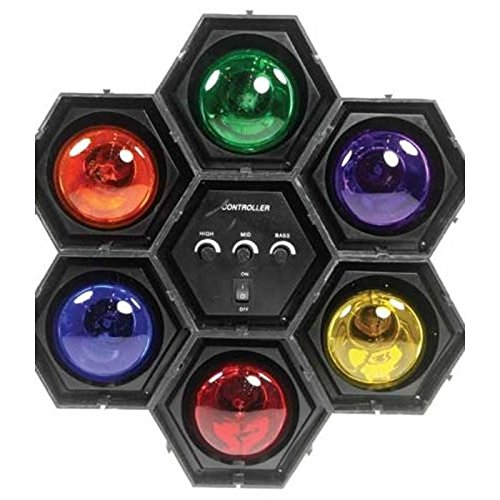 Aptafêtes – SP0297 – Séquenceur de Lumière à 6 Modules à LED – Taille Unique