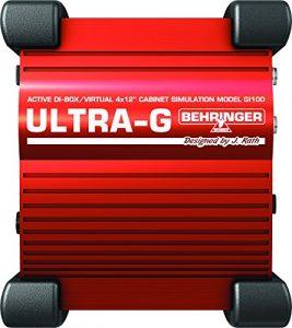 Behringer FI100 Boîtier d'injection avec simulateur de haut-parleur pour guitare (Import Royaume Uni)