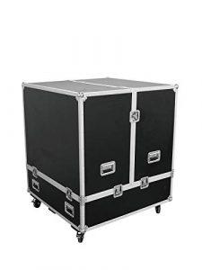 Caisse de transport (Flight Case) MOVER pour boule à facettes de Ø 100 cm, noir – Malle de transport / Boule à facettes – showking