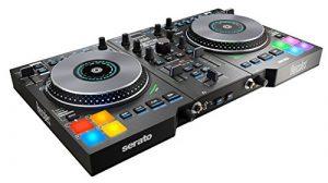 Hercules DJ Control Jogvision – Contrôleur DJ pour la Performance avec Affichage dans les Jog Wheels