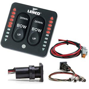 Lenco Marine Lenco LED Indicator Integrated Tactile Switch Kit w/Pigtail f/Single Actuator Systems