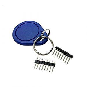 Li-ly MFRC-522 RFID Kit RF IC Card Sensor Module S50 Blank Card Key Ring Compatible for Arduino Raspberry Pi Useful and Practical