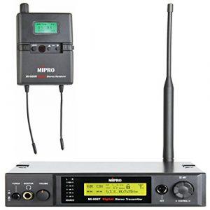 Mipro Système de 909rt Radio stéréo intra-auriculaires Moniteur numérique de mi