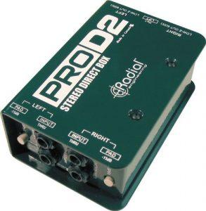 PRO D2 Stereo Passive DI