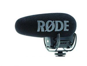 Rode Videomic Pro + Microphone de caméscope avec Fil Noir – Microphones (Microphone de caméscope, -33,6 DB, 20-20000 Hz, Super-cardioïde, 200 Ohm, avec Fil)