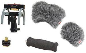 Rycote 046023 Kit audio d'enregistreur HD pour Zoom H6