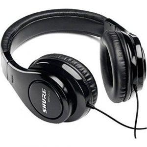 Shure SRH240A Casque audio professionnel de qualité Jack 40mm 2 m Noir
