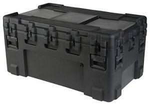 SKB 3R5030-24B-E Etui étanche universel rotomoulé 1270 x 760 x 610 mm + Kit de roulettes Noir
