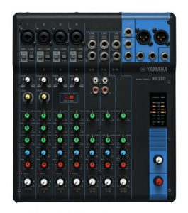 Yamaha – MG10YEM – Table de Mixage Analogique – Noir