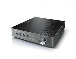 YAMAHA WXC-50 – Pré-amplificateur HiFi bluetooth – Système audio Multiroom, Wifi, Airplay – Compatible avec smartphones et ordinateurs – Noir