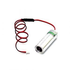 3.6-4.2V Largeur de graisse 532nm 50mW Module laser à diodes vertes Pour Bar KTV Laser / RLD80E30