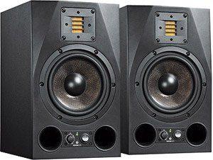 Adam Audio A7X 2 voies Studio Monitor Paire Noir