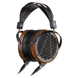 AUDEZE – LCD 2 – Casque Audiophile Haute Fidélité, Hi Res, Ouvert, Planar Magnétique, finition bambou shedua. Compatible ampli casque, smartphone, DAP, baladeur