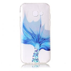 Cozy Hut Coque Samsung Galaxy A5 2017, Ultra Mince Premium TPU Souple Silicone Plating Coquille [Crystal Clear] [Poids léger] [Shock-Absorption] Etui Case Cover pour Samsung Galaxy A5 2017