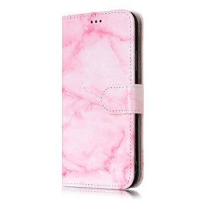 Étui portefeuille à rabat pour Samsung Galaxy avec support pliable pour cartes Samsung Galaxy S8 Plus color six