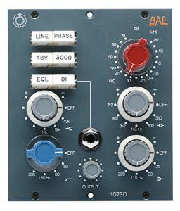 Format 500 et modulaire BAE 1073D Préampli – DI