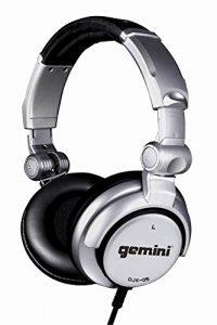 Gemini DJX-05 Casque DJ professionnel Gris