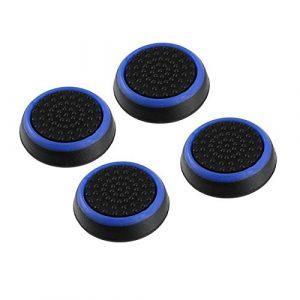 Lot de 4 poignées de protection en silicone antidérapantes pour manette de jeu PS3/4 pour Xbox One/360