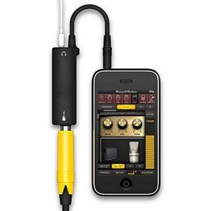 Rig Guitar Link système d'interface audio amp amplificateur Effets de guitare pédale convertisseur câble adaptateur jack pour iPhone iPad iPod