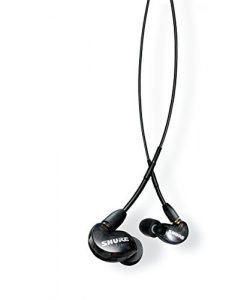 Shure SE215-K-UNI-EFS Shure Écouteurs Sound Isolating sans fil SE215, Noir