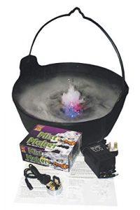 SMKMI Smiffys Unisexe Machine à brume, Appareil à brume et lumières, Taille Unique, Multicolore, 22777