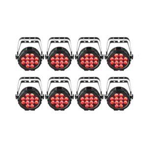 Chauvet DJ SlimPAR USB Pro Q Wireless DMX RGBA LED Wash lumière avec compatibilité USB D-Fi