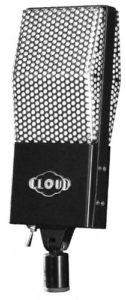 Cloud microphones 44a Microphone à ruban