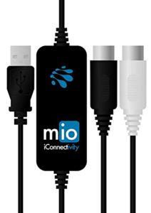 ICONNECTIVITY IMIO Interface Midi pour Mac/Pc Noir