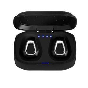 Voberry Ear Casque, Mini True Casque de sport casque sans fil Bluetooth HiFi in Ear Écouteurs stéréo