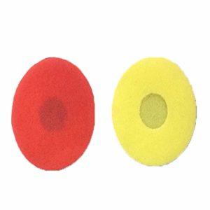 Dyda6 Lot de 100 Coques de Microphone jetables universelles Anti-odeurs en éponge Douce pour Microphone KTV sans Fil/sans Fil, Voir Image, o-Shape