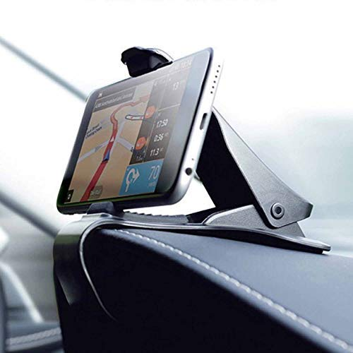 Support Universel pour Support de Berceau GPS HUB Dashboard Phone Mount Smartphone Navigation GPS Support Voiture Noir Support-Noir-1 Taille Jpstyle