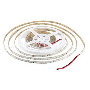 XKTTSUEERCRR 5M(16.4 ft)Ruban à LED 3528 Imperméable 300 LED Strip Bande Lumineux 12V étanche IP65 pour La Maison et La Décoration Partie-Pourpre