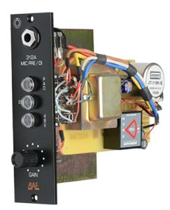 Format 500 et modulaire BAE 312A Préampli – DI