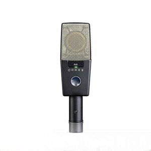 LIUGUANJIANG – Grand diaphragme – Microphone Professionnel pour Studio – Instrument Vocal – 9 Types de Microphones à condensateur