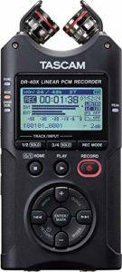 Tascam DR-40X Enregistreur audio portable 4 pistes