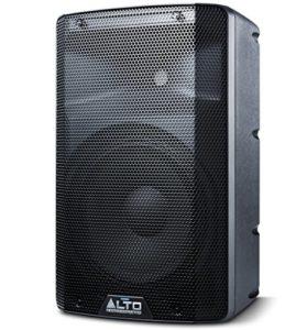 ALTO Professional TX210 – Enceinte active bidirectionnelle 10″ 300W avec crossover actif, de nombreuses connectivités et limiteur analogique intégré