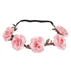 Liusdh Serre-tête avec fleurs Oriental ein Größe rose