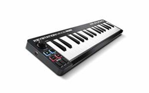 M-Audio Keystation Mini 32 MK3 – Clavier Maître Mini – USB/MIDI Ultra-Portable avec 32 Mini-Touches Sensibles au Toucher, ProTools First, M-Audio Edition et Xpand!2 par AIR Music Tech