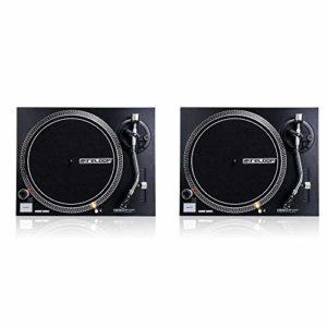 Reloop RP-1000MK2 Lot de 2 courroies pour tourne-disque DJ en forme de S