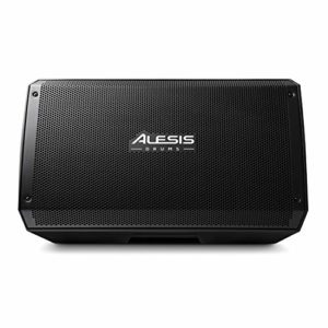 Alesis Strike Amp 12 – Enceinte/amplificateur active 2000 W ultra-portable pour batterie avec woofer 12″, tweeter et EQ de contour