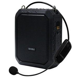 Haut-parleur imperméable de Bluetooth de haut-parleur d'amplificateur de voix sans fil, amplificateur sans fil de microphone Haut-parleur portatif de haut-parleur de mégaphone pour l'extérieur