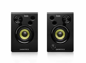 Hercules – DJMonitor 32 – Enceintes actives monitoring 2×15 watts