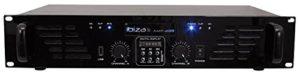 Ibis AMP300USB-BT Amplificateur de Sonorisation avec Bluetooth USB 2 x 240 W Noir