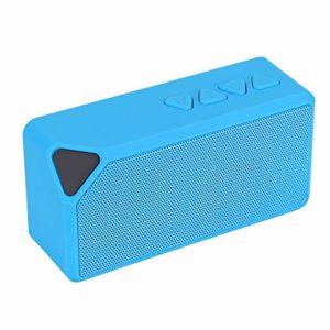 Mini haut-parleur mains libres sans fil, haut-parleur Bluetooth stéréo, carte mémoire externe avec prise en charge 32G, fonction de radio FM, haut-parleur Bluetooth extérieur haute sensibilité