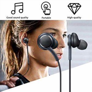 Momorain Magnétique Métal Écouteurs Super Bass Stéréo Écouteurs Casques Anti-Transpiration avec Micro pour Téléphone Mobile MP3 MP4
