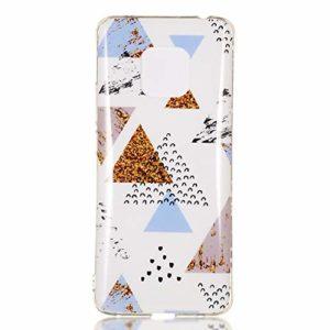 NEXCURIO Coque Huawei Mate 20 Pro, Marbre Coque Silicone TPU Souple Antichoc avec Motif Peinture Design Étui Protection Housse pour Huawei Mate20 Pro – NEYHU240752 N8