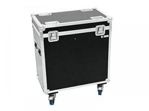 ROADINGER Flightcase 2x PFE-100/120