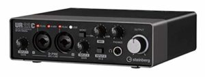 Steinberg UR22C – USB 3 Audio Interface incl MIDI I/O & iPad connectivity