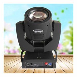 YEAHMO LED RGBW scène Spotlight, 230W DMX512 Moving Head Light 17 Motif 14 Couleur + lumière blanche 16/20 Canal arc-en-disco KTV éclairage Projecteur de scène (Color : Package B(2PCS))